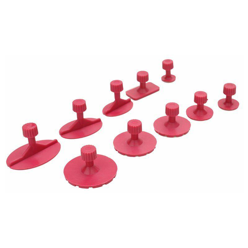10 Pieces Rose Rouge Mixte Tirant Dessin Joint Outil De Voitures Sans Peinture De Dent De Reparation Outils D'Auto