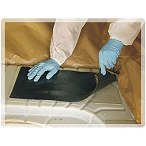 10 plaques auto adhesive de goudron insonorisant 250 x 500 x 2 mm