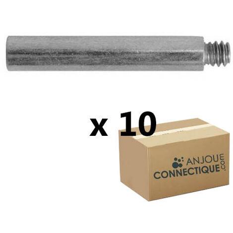 10 rallonges 25mm pattes à vis, filetage 7x150