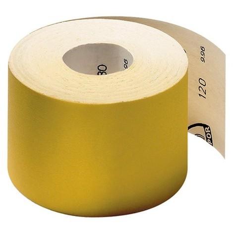 10 rouleaux papier corindon PS 30 D Ht. 115 x L. 4500 mm Gr 100 - 174097 - Klingspor