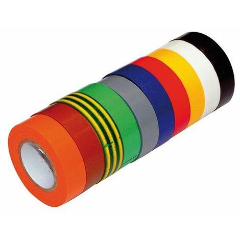 """main image of """"10 Ruban Isolant PVC usage courant Panaché - Klauke"""""""