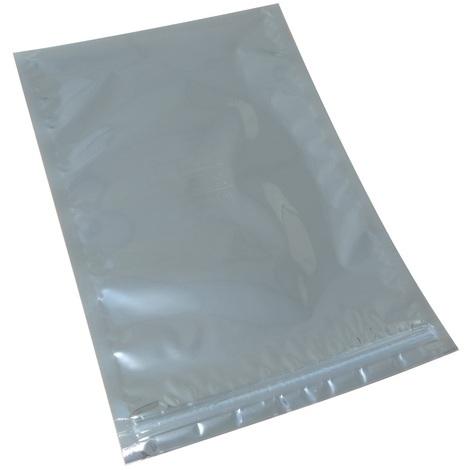 10 sachets zip antistatiques 203/305mm 76µm