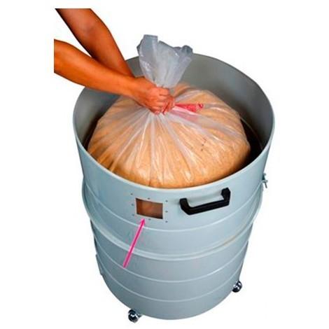 10 sacs de récupération plastique à copeaux - AB-SP-R160TE-B - Holzprofi