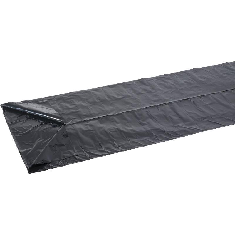 10 Sacs poubelle noir - 50L - 35µ