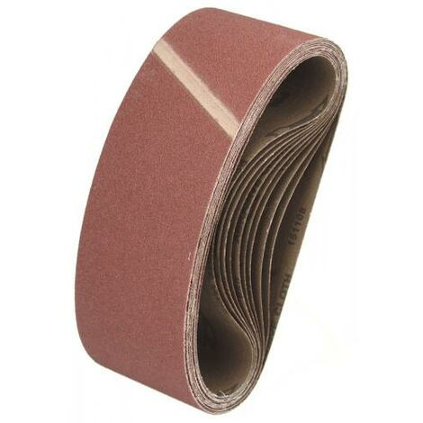 10 Schleifbänder 100x610 mm Schleifband Schleifpapier
