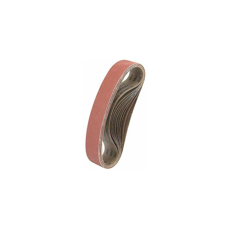 Schleifbänder 20 Bänder ECKRA® P150 100x610mm Gewebeschleifbänder Schleifpapier