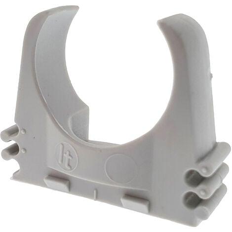 10 soportes presión para tubo vd25