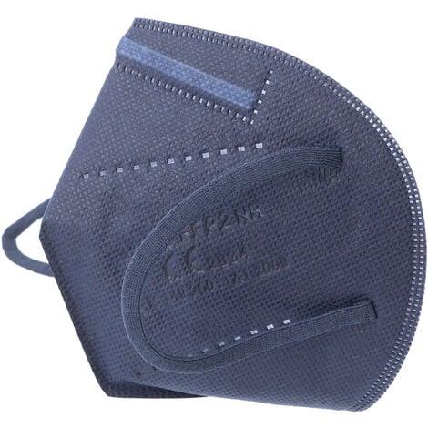 10 Stück FFP2 Maske Blau 5-Lagig, zertifiziert nach DIN EN149:2001+A1:2009, partikelfiltrierende Halbmaske, FFP2 Schutzmaske