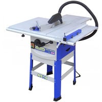 10'' Table Saw with floorstand & side extensions