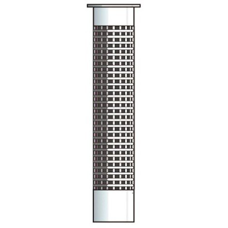 10 tamis d'injection en plastique PSM D. M10-M12 x Lt. 85 mm - PO08474 - Alsafix