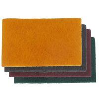 10 Tampons de fibre abrasif universel rouge moyen = P320