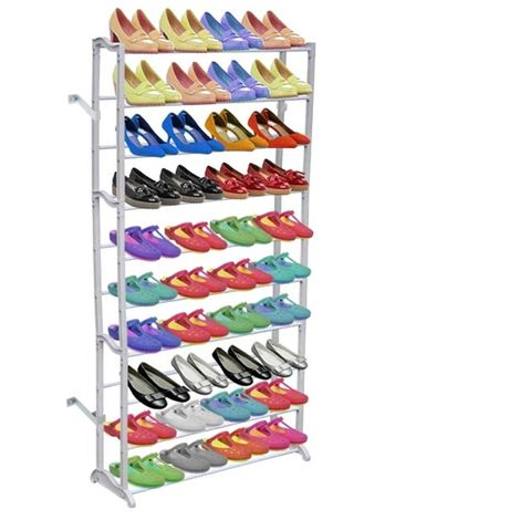10 Tier Shoe Rack/Shelf VD30966