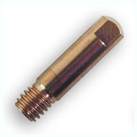 10 tubes contacts GYS pour torches 150 A, Ø 0,8/M6 - 041912