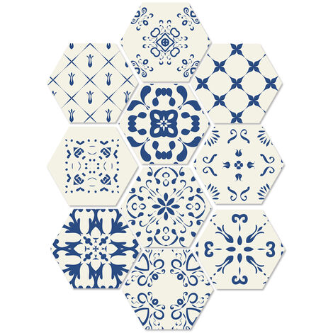 10 unids / set adhesivo autoadhesivo para piso, para bano, cocina, protector contra salpicaduras, azulejos, pared