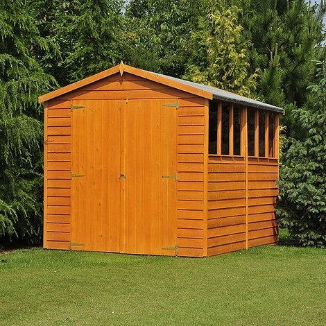 10 x 10 Overlap Shed with Double Doors