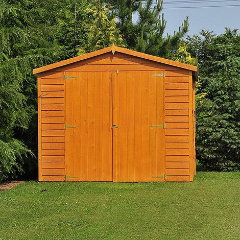 10 x 15 Overlap Shed with Double Doors