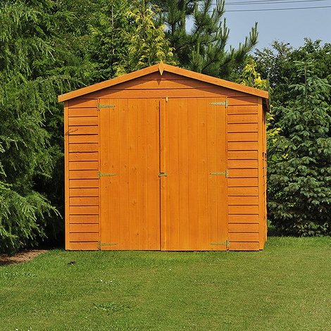 10 x 20 Overlap Shed with Double Doors
