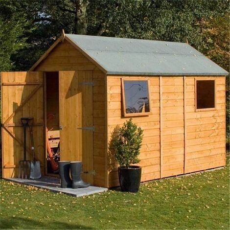 10 x 6 Deluxe Tongue And Groove Shed (12mm Tongue And Groove Floor)