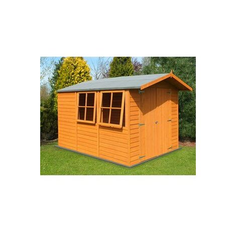 10 x 7 Overlap Shed with Double Doors