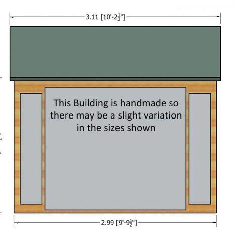 10 x 8 Blenheim Summerhouse