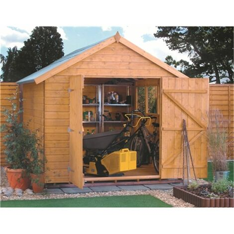 10 x 8 Deluxe Tongue And Groove Shed (12mm Tongue And Groove Floor)