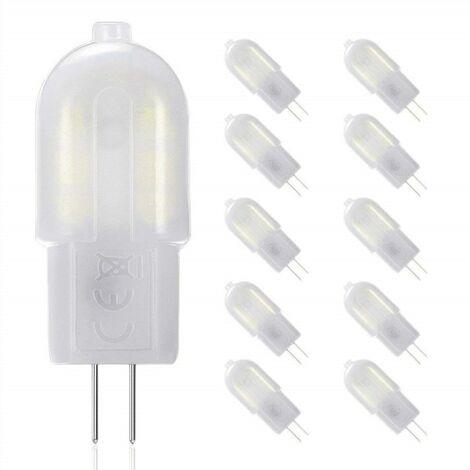 10 x Ampoule LED G4 12V Dimmable 851LM Blanc 2W Equivalent 20W Remplacement pour Ampoule Halogene