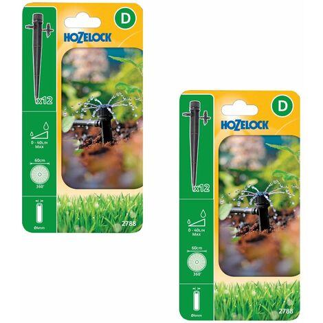 10 x Hozelock 2788 End of Line Adjustable Mini Water Sprinkler Micro Irrigation