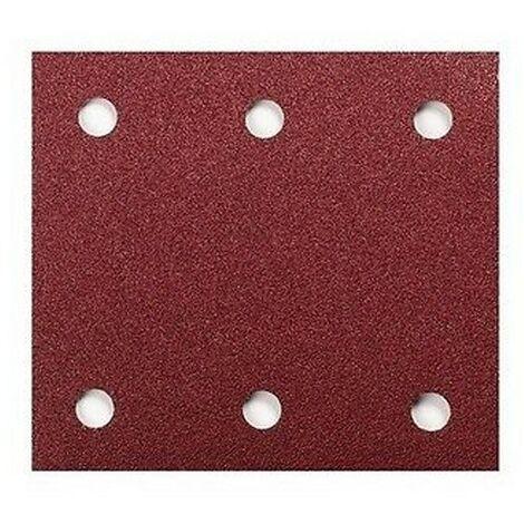 "10 X Makita 320 Grit 114mm X 101 1/4"" Sheet Palm Sander Sanding Sheets BO4555"