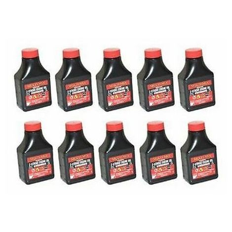 10 x Two (2) Stroke Oil One Shot Bottles 50:1 Mix Ideal For Chainsaw Off Saw Bruschcutter