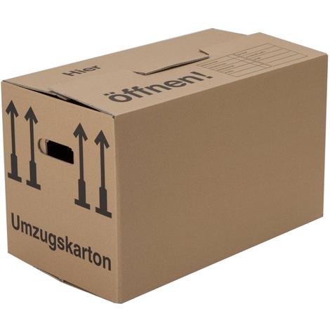 10 x Umzugskarton (Profi) 2-wellig 600 x 330 x 340