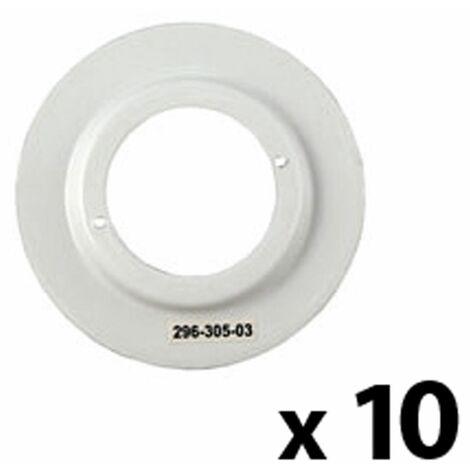 10 x White Shade Reducing Ring