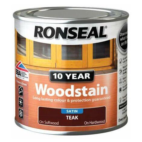 10 Year Woodstain Teak 250ml (RSL10WST250)