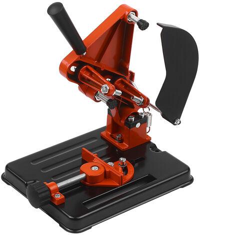 100-125 Grinder Angle Grinder Support Porte-Outil Patte De Support Porte-Machine De Coupe Pour 100/115 / 125Mm Angle Mill Travail Du Bois Outil Bricolage Outils Electriques Accessoires