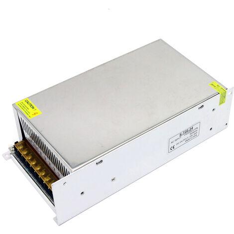 100-240 AC a DC 24V 30A 720W Transformador de voltaje regulado Switching Power-Supplys convertidor adaptador para tiras de luz para camara del ordenador de Radiocomunicaciones Proyecto