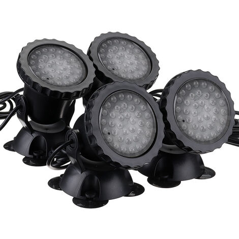 100-240V 50 / 60HZ 36LED blue red green yellow colored LED outdoor lights waterproof dive colored spotlights aquarium fish tank lights pool lights underwater lights Mohoo