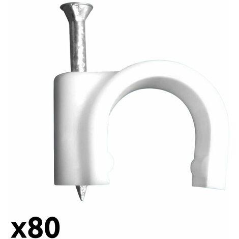 Zenitech 100 attaches /Ø5 blanc