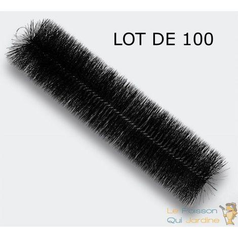 100 Brosses De Filtration, 60 cm, Pour Filtre De Bassins De Jardin