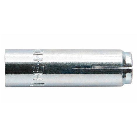 100 chevilles métalliques femelle cône intérieur ATE Option 7 M6 x 25 mm (D. 8 mm) acier zingué - HEHOM06 - Index