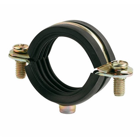 100 colliers métalliques légers isophonique M6 D. 16 mm - AB6I016 - Index - Autre -