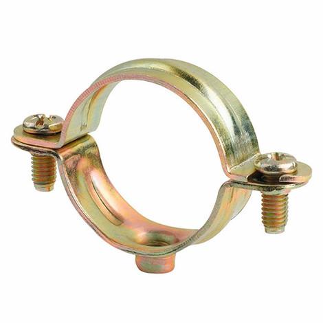 100 colliers métalliques légers simple M6 D. 12 mm - ABM6012 - Index - Autre -