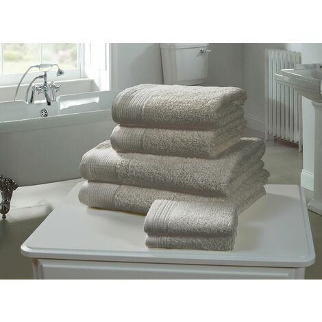 100% Combed Cotton Super Sheet Bath Towel Silver Grey 600gsm