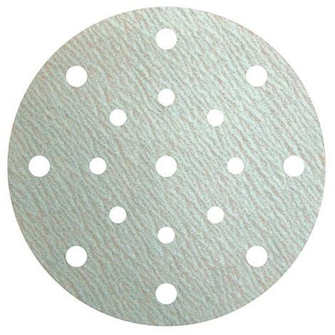 100 disques papier auto-agrippant 8 + 8 trous + 1 central PS 73 BWK D. 150 mm Gr 400 - 310527 - Klingspor