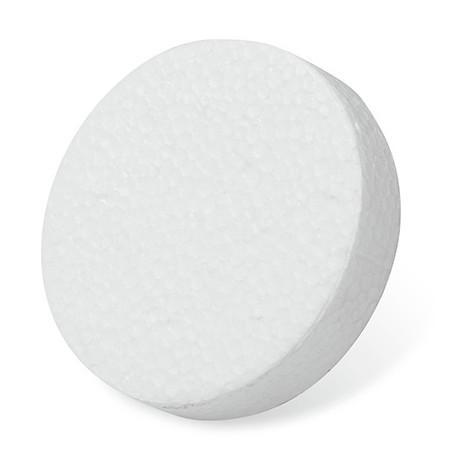 100 disques polystyrène D. 20 mm - Fixtout