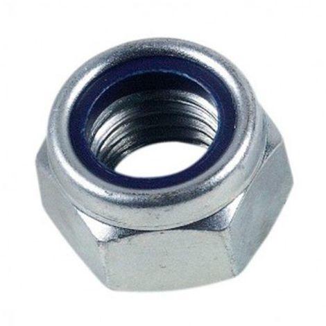 100 écrous frein indésserrable bague nylon M5 mm - Inox A2 - EIND05A2B100