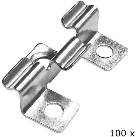 30 x Spezial Kunststoff-Clips f/ür Planen Folien /Ösen-Clip Befestigungsklemme