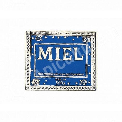 100 étiquettes 'Antique' 500 g (58x70)