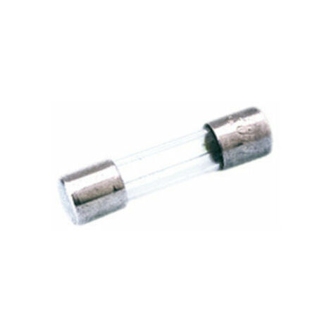 20 fusibles vidrio 5x20mm 6,3 a fino fusibles 5x20 mm 6,3a Flink 082079