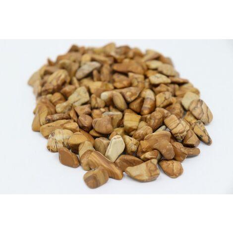 """main image of """"100 kg de galets de rivière à grain poli Cailloux de jardin à grain décoratif en bois de grain"""""""