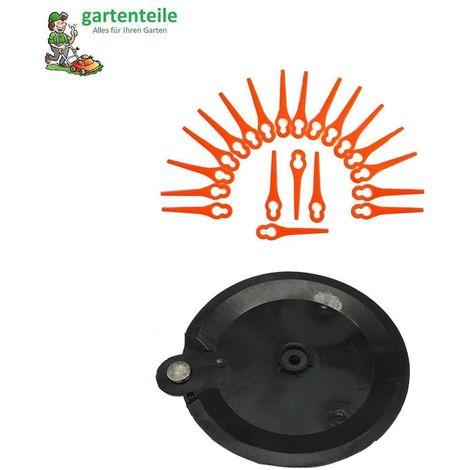 Ersatzmesser für Rasentrimmer PRTA 26-Li  LIDL IAN 311046 Schneidplättchen