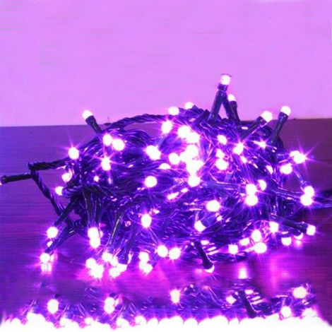 100 LEDs in 12Mtr Christmas Light Pink Colour